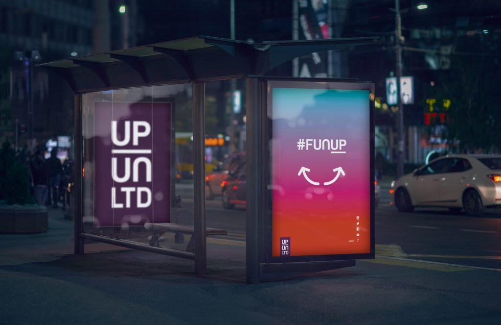 UpUnlimited brand identity
