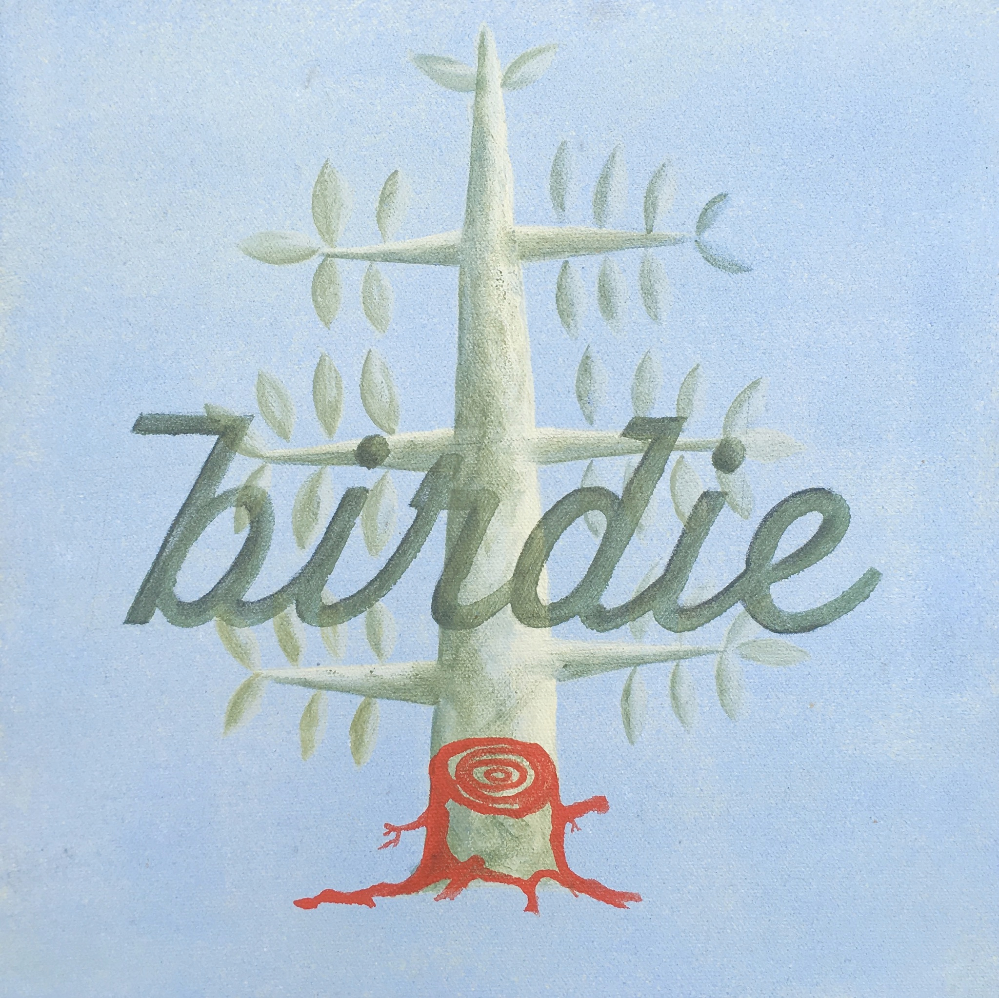 Birdie: A painting Made by Wanderlust